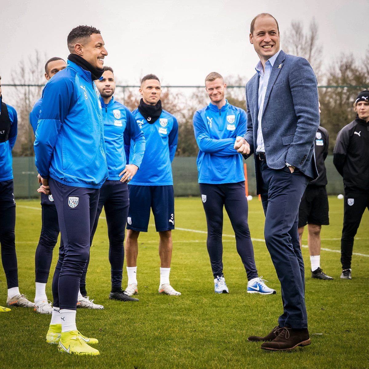 Its a strength to be able to talk about mental health - mental fitness - rather than a weakness. — The Duke of Cambridge #HeadsUp | @WBA | @Heads_Together