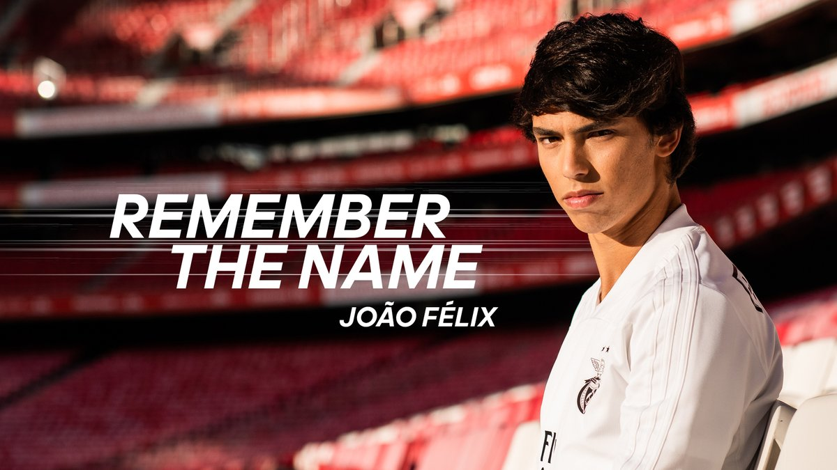 From not being picked by coaches for being too small to winning the #GoldenBoy2019 award for the best under-21 player in Europe. And @joaofelix70 is just getting started. #RememberTheName @adidasfootball