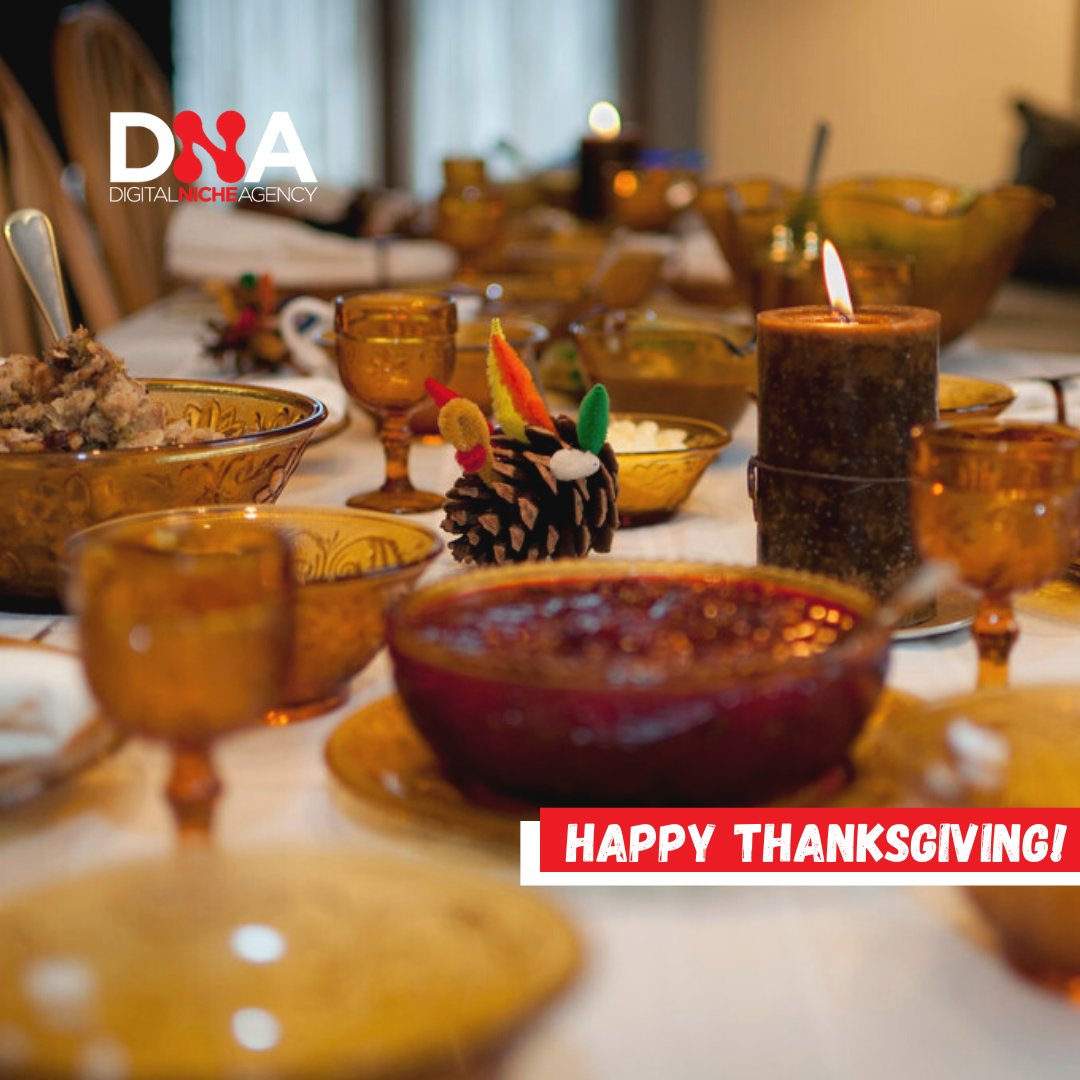 Happy Thanksgiving to all of our followers and clients! We are thankful for all of you and your continued support! #ContentMarketing #ReachYourNiche #DigitalAdvertising #DigitalMarketing #ContentIsKing #DigitalMarketingstrategy #Business #Digital #SmallBusiness #Thanksgiving
