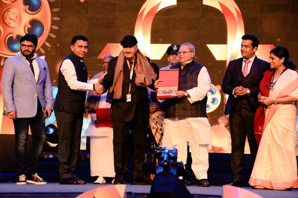 The curtain comes down on 50th IFFI in Goa