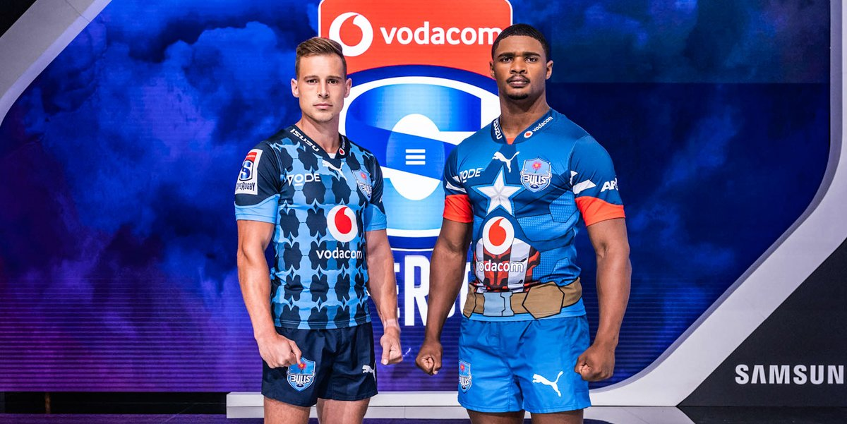 💢 @Vodacom Super Rugby 2020 season launched 😍 New super hero jerseys inspired by Marvel characters ⬆ Vodacom #SuperHeroSunday in Gauteng on 19 January 🔗 bit.ly/34u9Ekl @VodacomRugga @Marvel @SuperSportTV @BlueBullsRugby @THESTORMERS @LionsRugbyCo @TheSharksZA