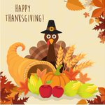 Image for the Tweet beginning: Happy Thanksgiving