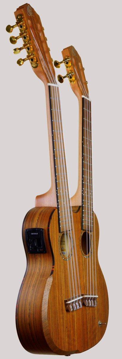 Ortega hydra double neck tenor taropatch at ukulele corner