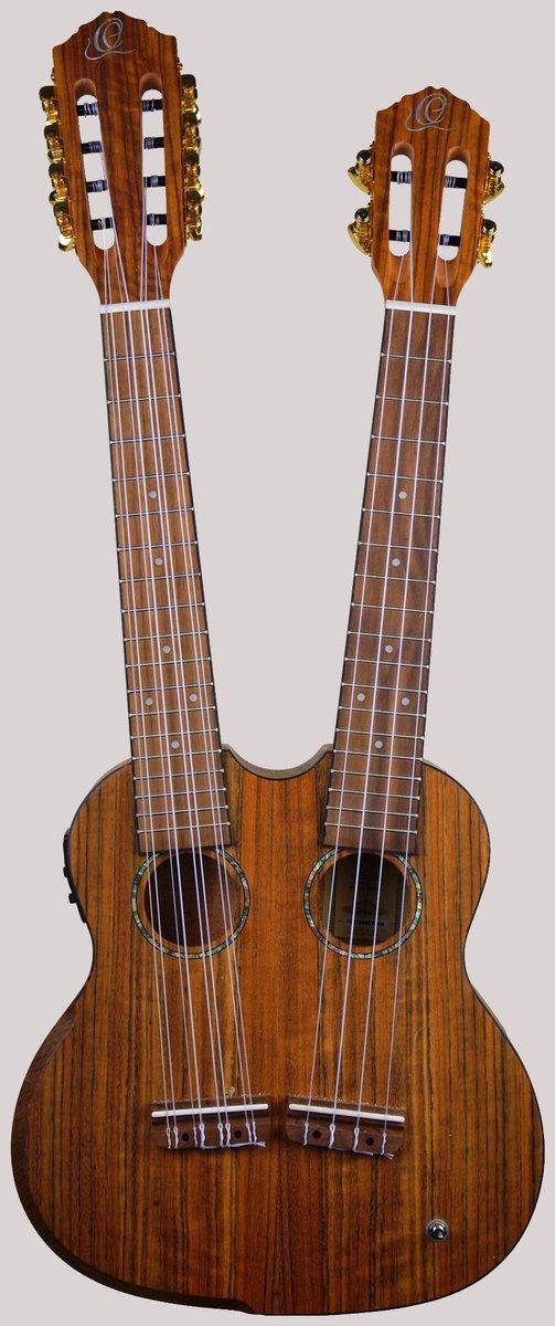 Ortega hydra double neck tenor taropatch ukulele