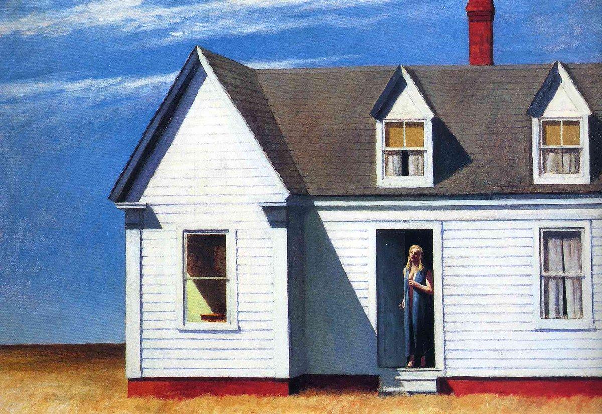 High Noon, 1949 #newrealism #edwardhopper<br>http://pic.twitter.com/8xqNRYvuPa