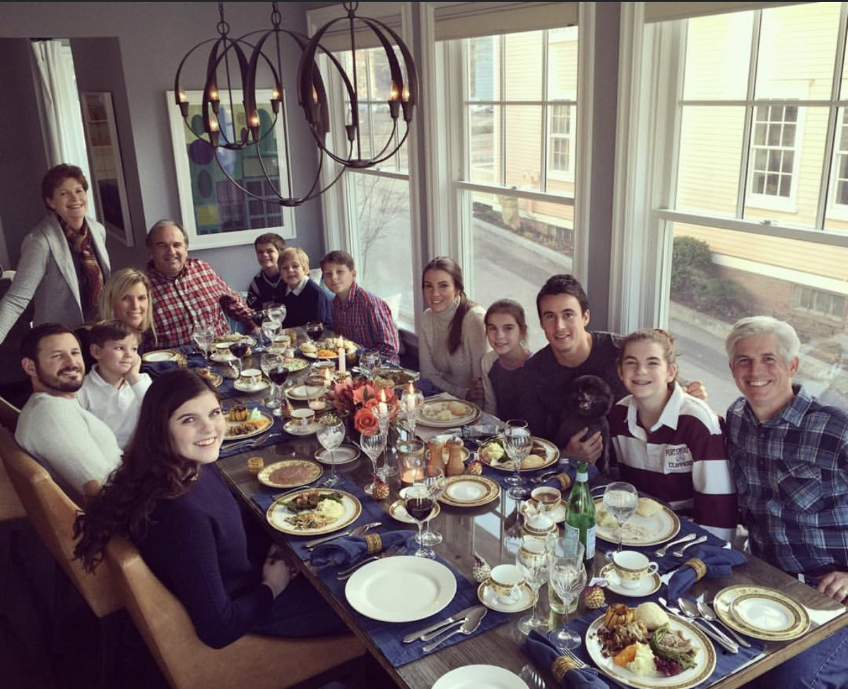 Happy Thanksgiving from the Shaheen family! (Photo credit: Stefany)