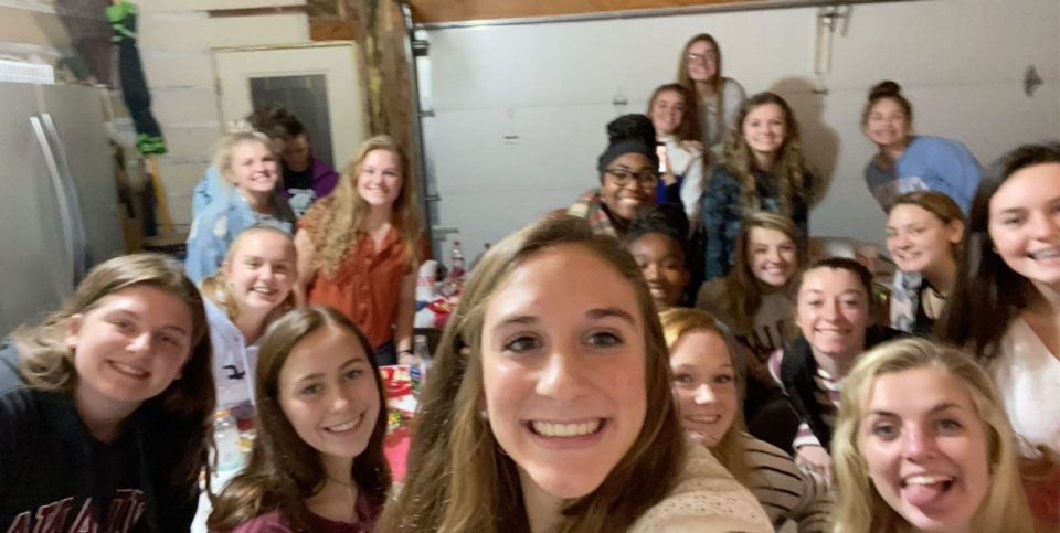 Happy Thanksgiving from Lady Panthers. We enjoyed our BB Family yesterday! #blessedlife #PanthersROCK<br>http://pic.twitter.com/cUqsCiU7uV