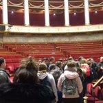 Image for the Tweet beginning: Visite de l'assemblée nationale des