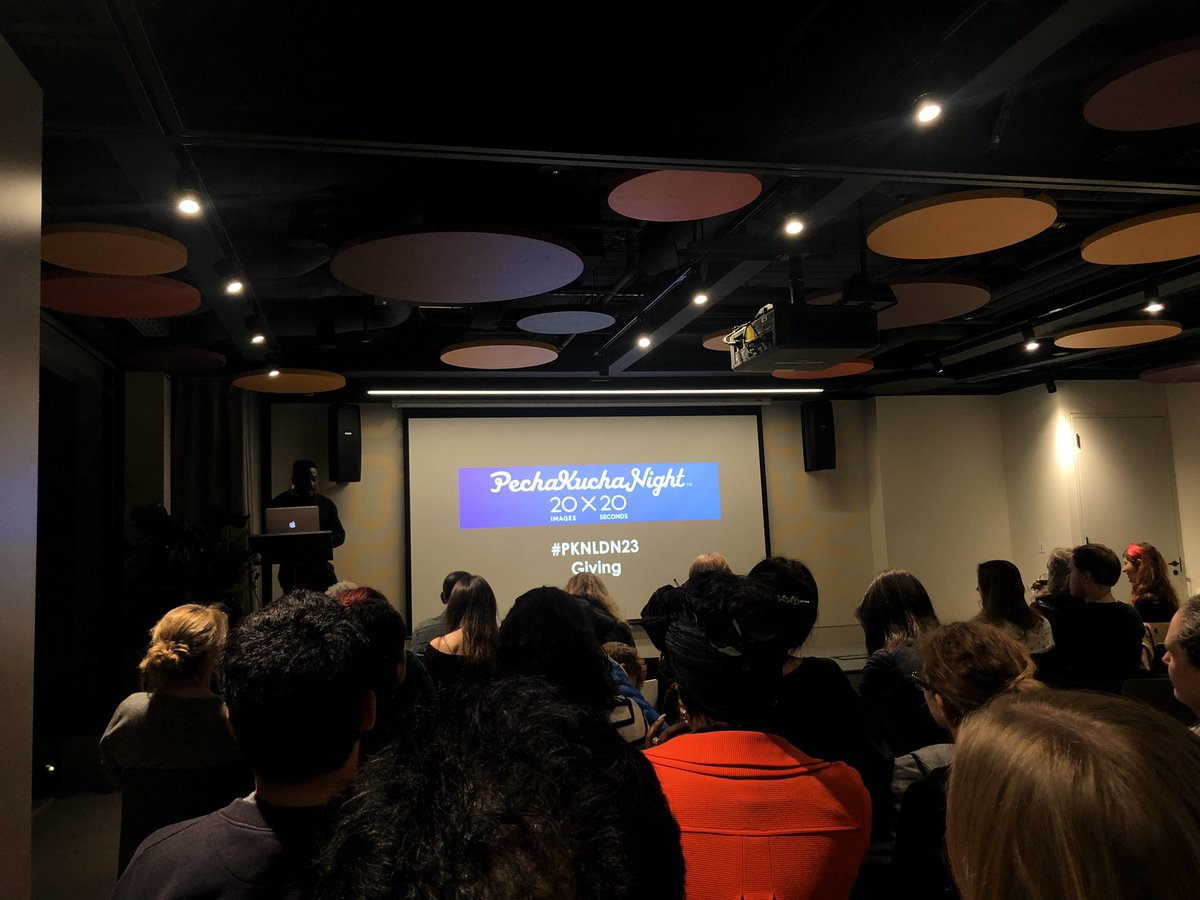 Here at @PKNLDN tonight for #PKNLDN23