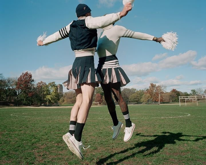 ... score ... thom browne football 2019. view more now, on thom browne journal. ph:  #thomasmccarty  #thombrowne  #thombrownefootball