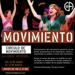 Image for the Tweet beginning: #CÍRCULO DE MOVIMIENTO, con Jorge