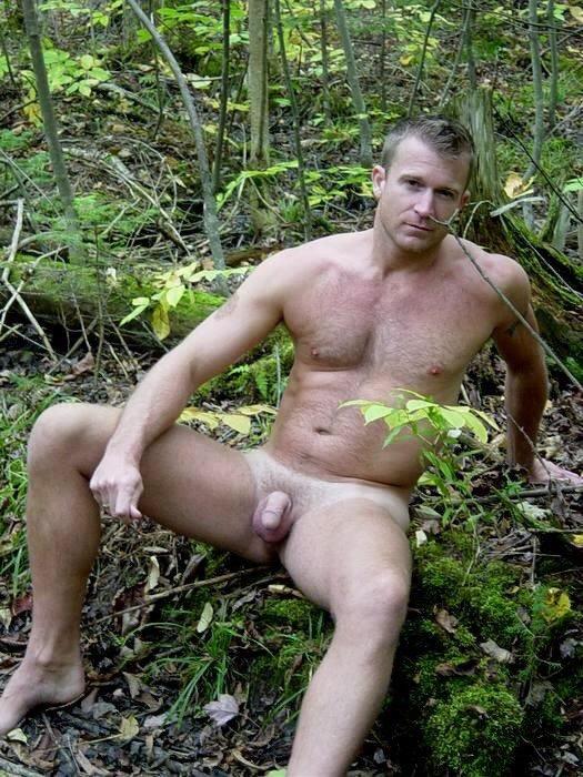 Naked men having sex