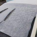 簡単!車のフロントガラスが朝凍らない方法!