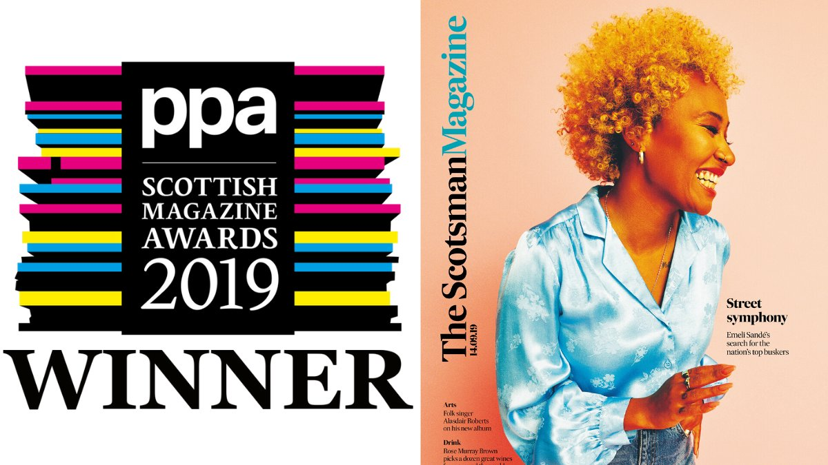 The #PPASMA19 Supplement of the Year Awards goes to… The Scotsman Magazine @TheScotsman