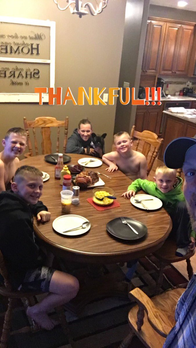 Happy Thanksgiving from the Vrbka crew! #Thankful & #Blessed