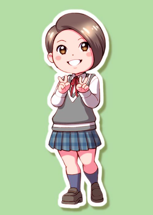 平井美葉ちゃん描いてみました。 #ハロプロTOKYO散歩