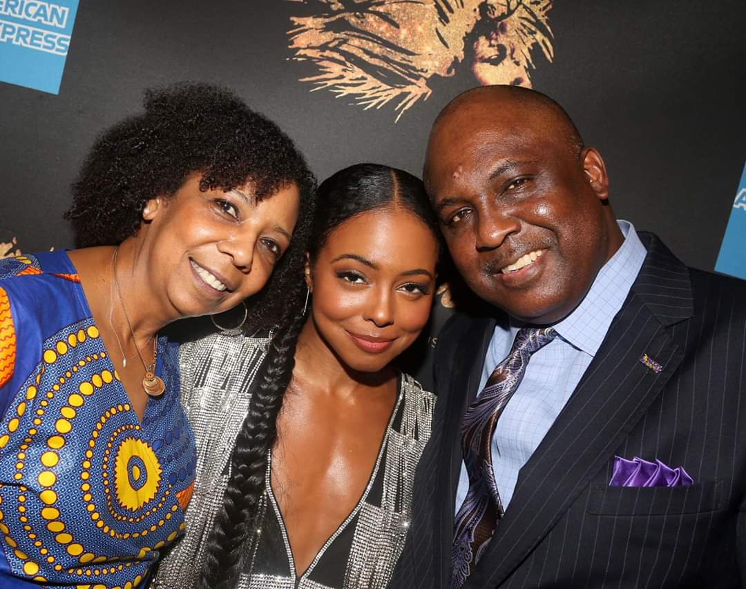 Thankful for my talented cousin, Adrienne Warren starring as Tina on Broadway. #SalemESGrateful #Salemshuffle