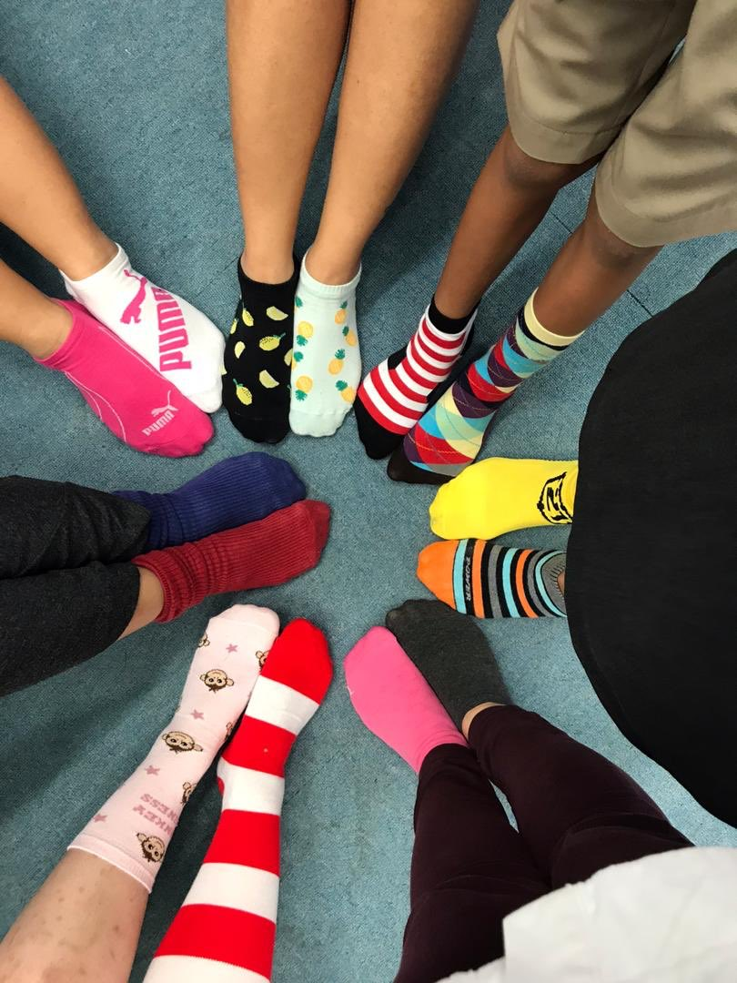 In support of anti-bullying week #oddsocksday #celebratediversity<br>http://pic.twitter.com/Ls3eD766Tq