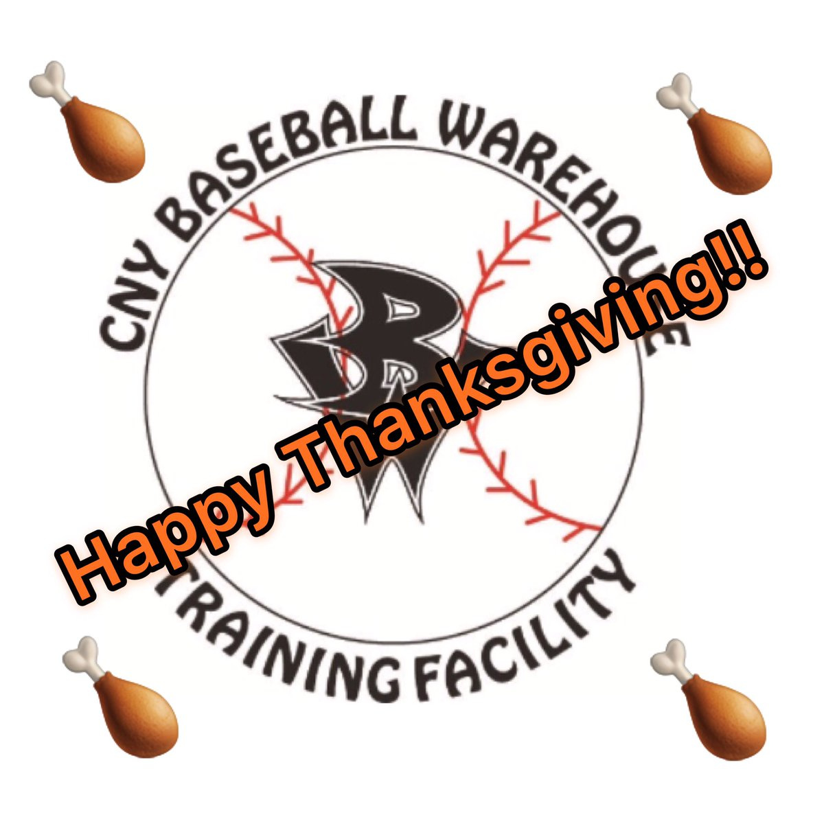 Happy Thanksgiving to all of our Warehouse/Baseball U-NY players and families and all of our Warehouse/APE/PUMA athletes and families. Enjoy the time with friends and families. #Warehouse #TheU #GoAPE #PUMA