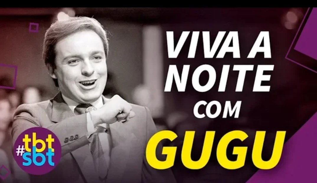 RT @SandroNascimm: O SBT postou uma edição do Viva a Noite no YouTube  #RIPGugu https://t.co/CzXWAMnzVi https://t.co/H7l8hcp23v