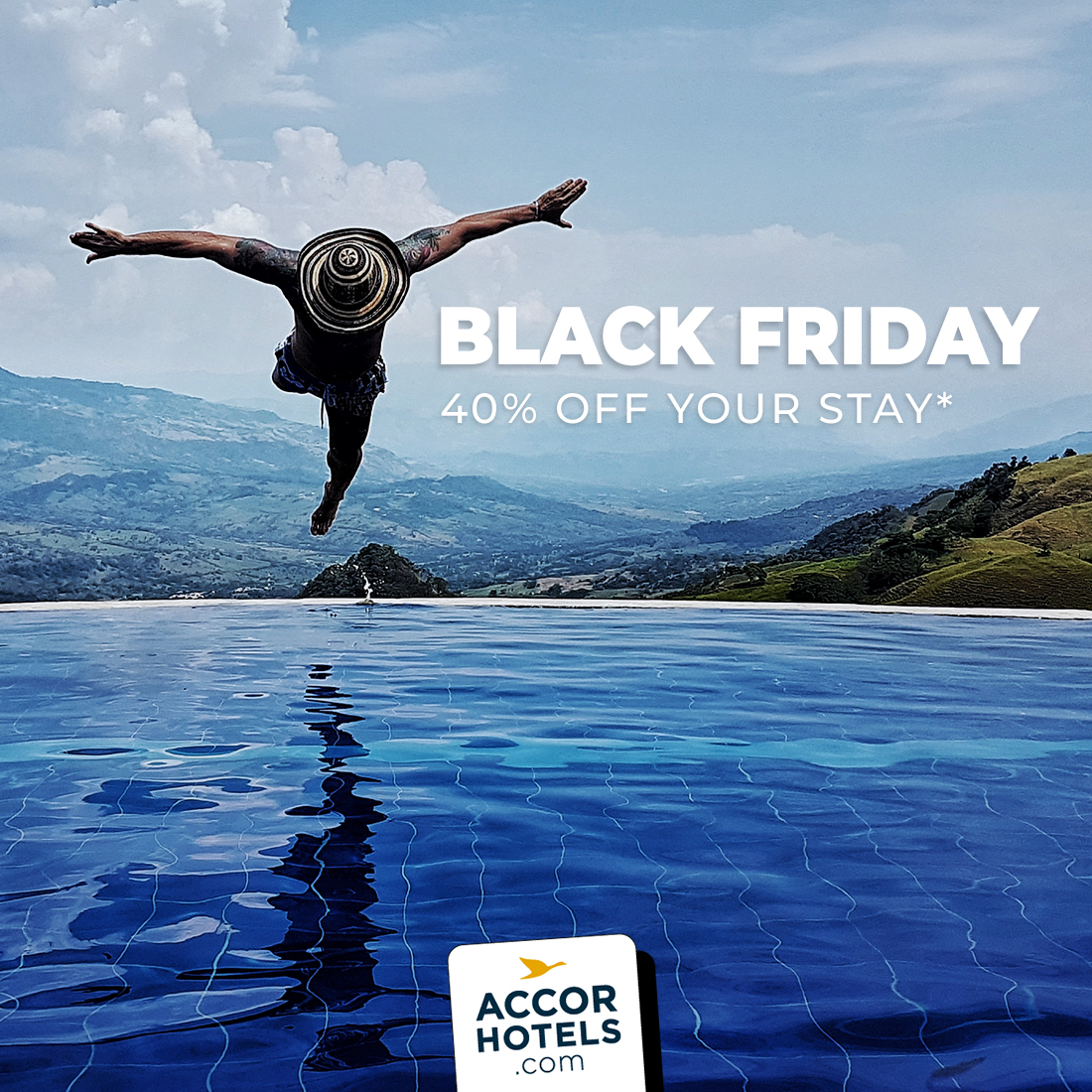 ⚡️BLACK FRIDAY, members get a 40% discount* on stays between 1 Jan - 30 Apr 2020 across Asia Pacific! Accor Plus members receive 10% on top. Offer valid until 2nd Dec 2019 Discover more >>https://t.co/STpOTyNMi9 #BlackFriday2019 https://t.co/C4qNEf4ymk