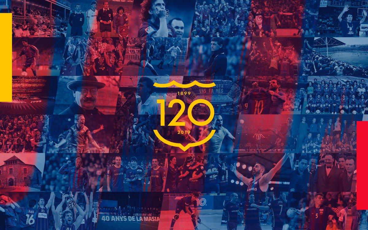 Feliços 120!  #Barça120