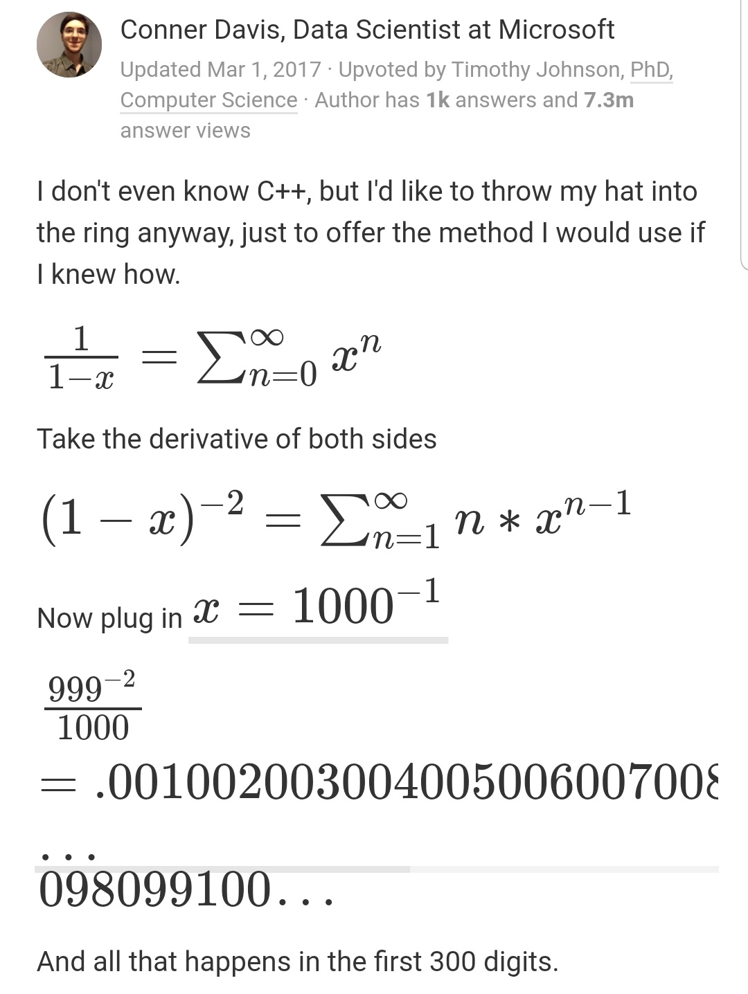 ループを使わずに1から100までを出力する方法が天才的すぎる!!