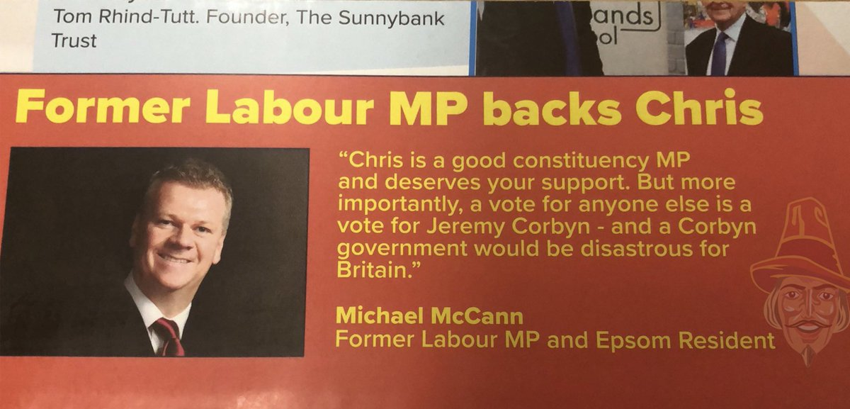 Former Scottish Labour MP, Michael McCann, also makes the 6th former Labour MP to call on voters to back the Tories order-order.com/2019/11/29/vot…