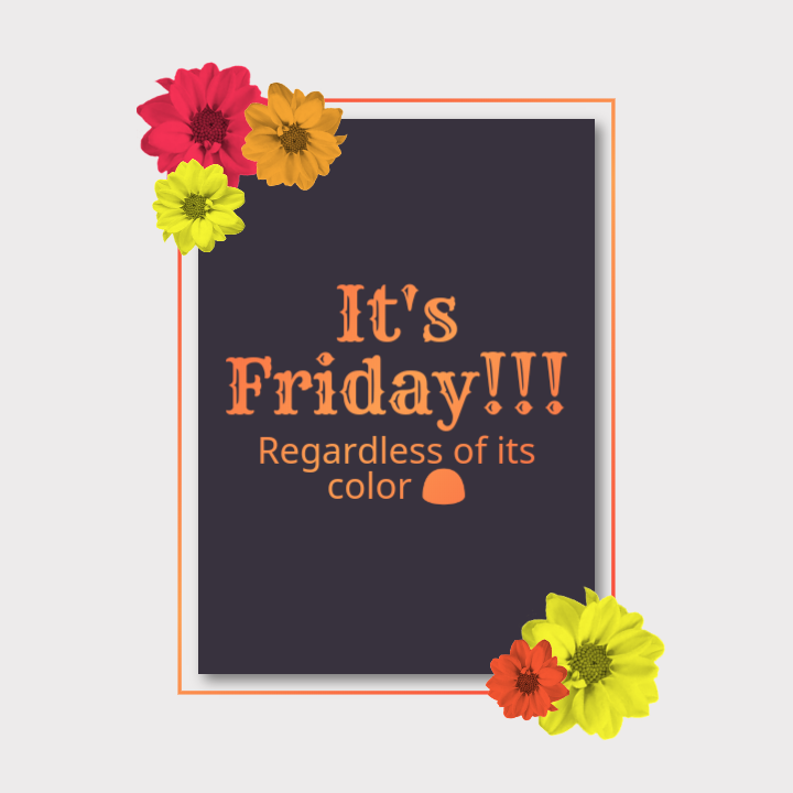 #Friday. Because whether black, white, pink or green. It's still the end of the week. #Tgif #Fridayvibes #weekend #indieauthor #celebrateindies #writersofig #writerscommunity #booklovers #bookreaders #bookstagram<br>http://pic.twitter.com/qwce0Qzn1Q
