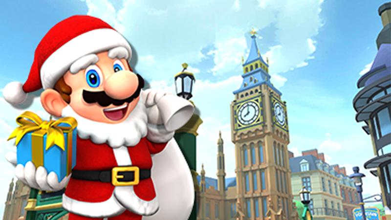 Mario Kart Tour On Twitter Mario Santa Will Still Be In