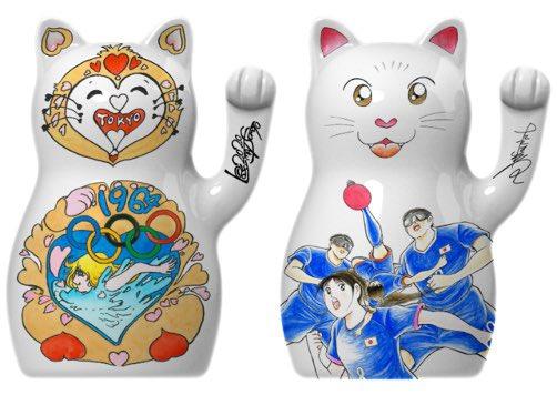 「2020 Lucky Cat Edition」のイベントに、北島康介さん、中川翔子さんと出席させてもらいました。各開催ごとに1名ということで、1964年は松本零士先生、そして2020年は僕がデザインを担当しました。とても光栄なことだと思います。東京2020が盛り上がることを期待してます。