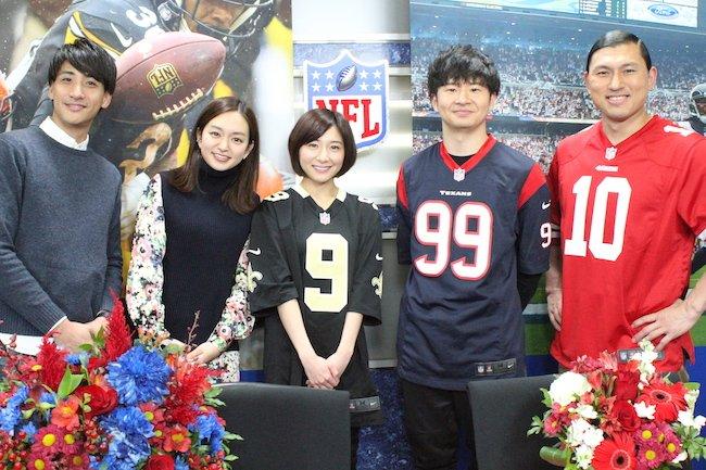 テレビ 日本 nfl 倶楽部
