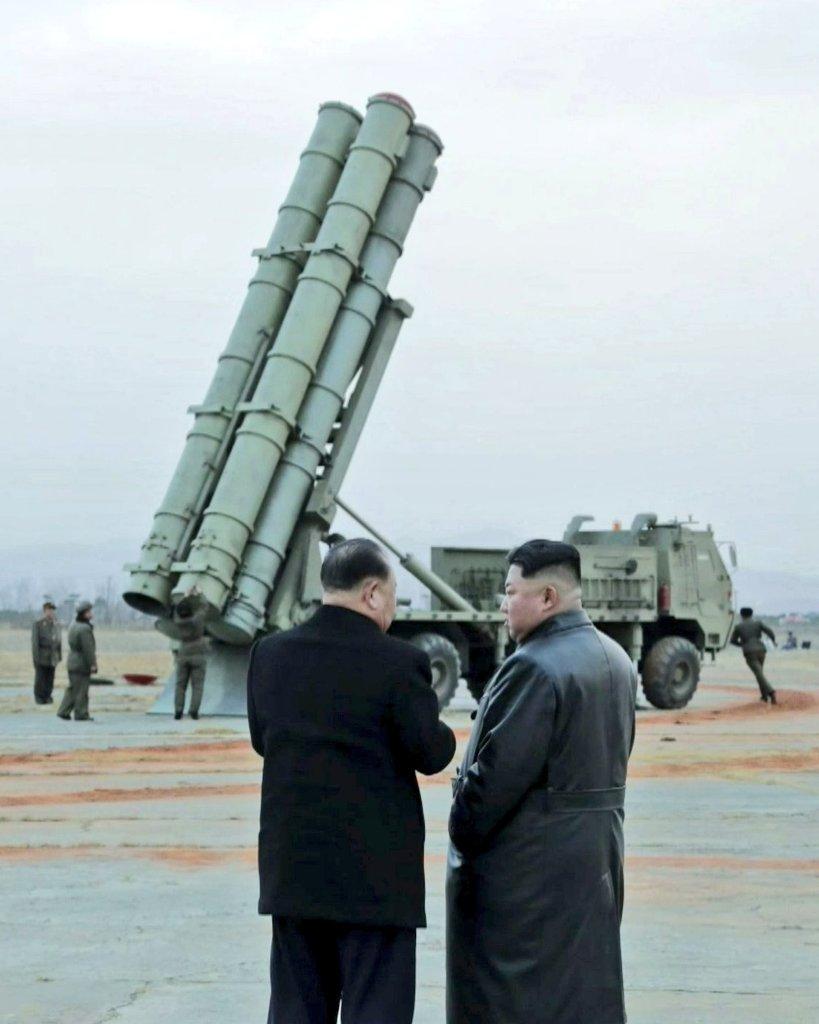 Испытания новой ракетной системы в КНДР