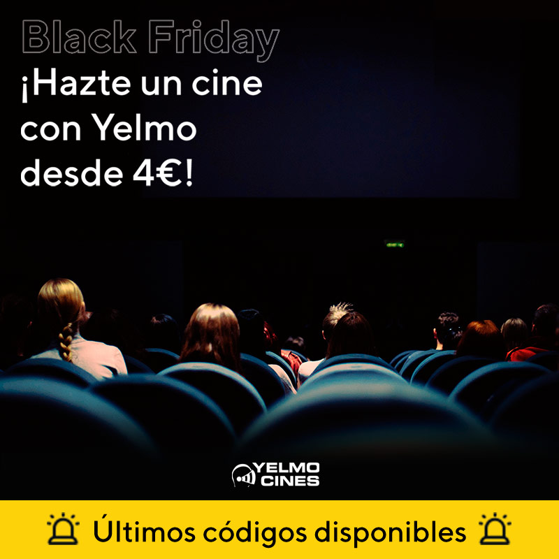 Cine Yelmo On Twitter últimos Códigos Disponibles Cómpralos Ya Y Hazte Un Cine Con Esta Gran Oferta De Blackfriday Estás A Un Click De Pagar Solo 4 Para Venir