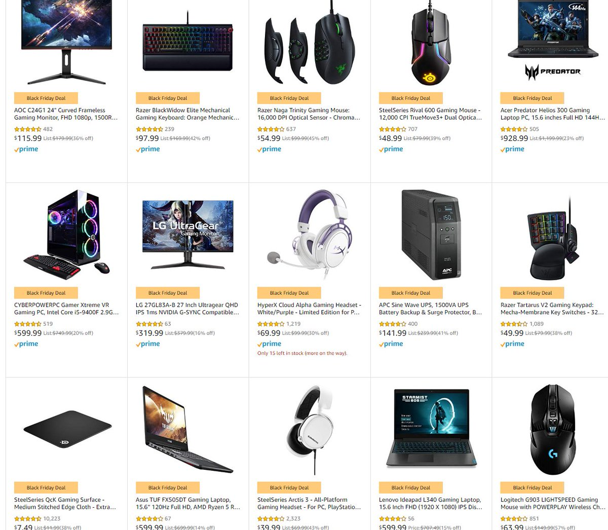 Wario64 Auf Twitter Pc Gaming Laptops Desktops Monitors Components And Accessories Sale On Amazon Https T Co Pkujiznp3f