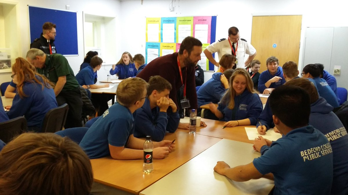 """""""The workshops proved really successful and were a great opportunity for us to work alongside our partners and young people"""" Superintendent Juliette Everett @bedspolice #activeengagement #earlyintervention #collaboration #YouthVoice #makingitreal #FridayFeedback"""
