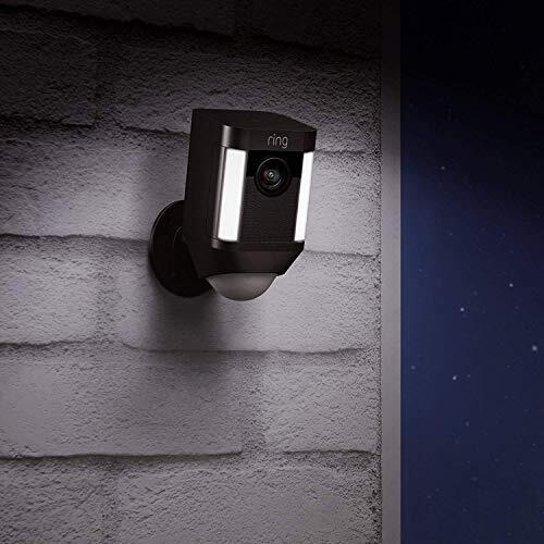 Ring Spotlight Cam avec panneau solaire