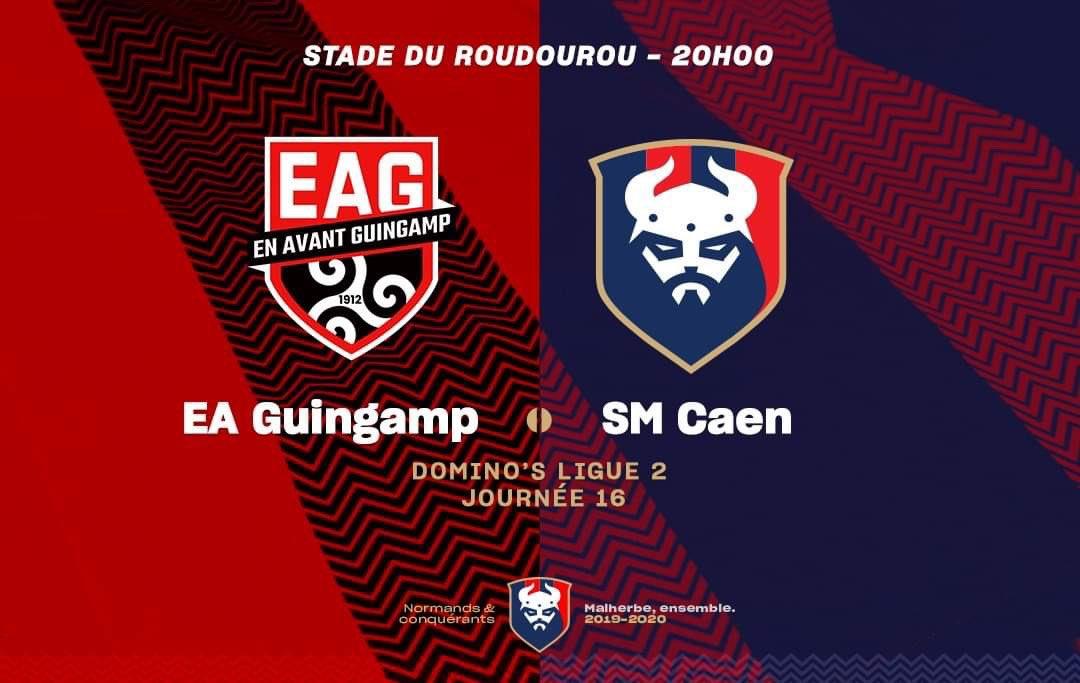 [16e journée de L2] EA Guingamp 1-1 SM Caen EKhyBCZXUAECuOV