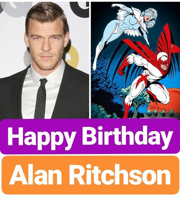 Happy Birthday  Alan Ritchson