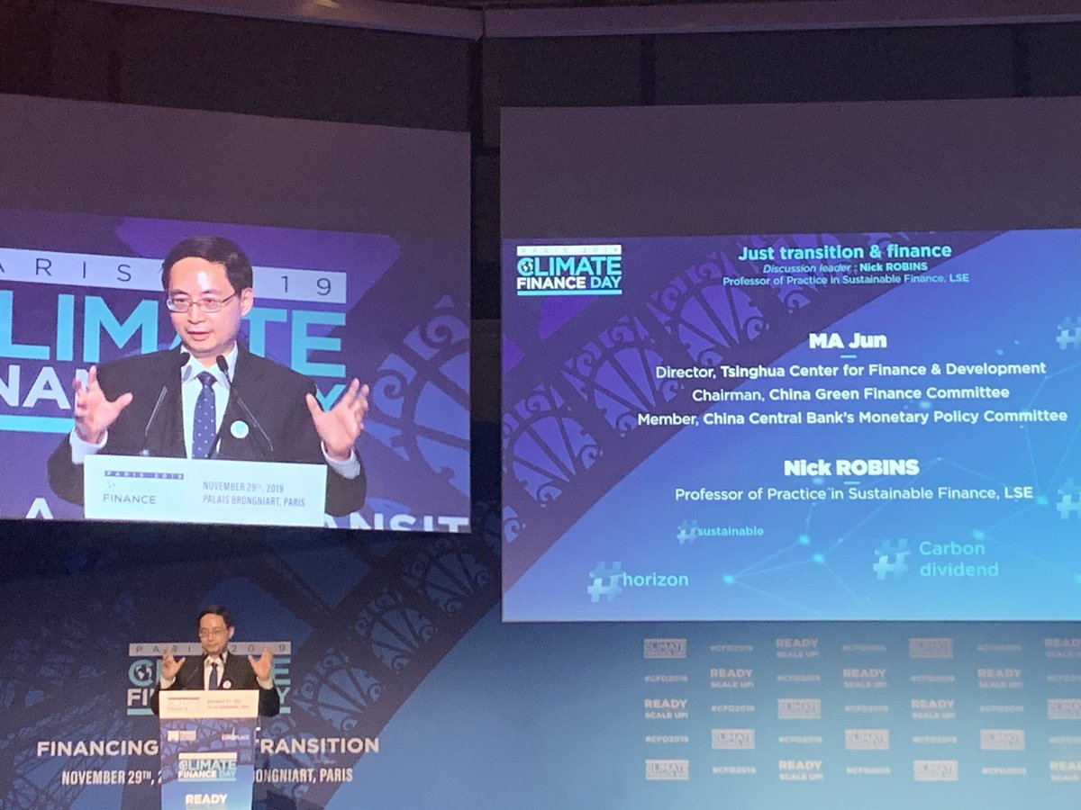Ready to #Scale ? #China has successfully demonstrated possibilities for #GreenFinance with pilot together with Bank of Huzhou and #TextileMills . #CFD2019pic.twitter.com/2vzHXMsF3p