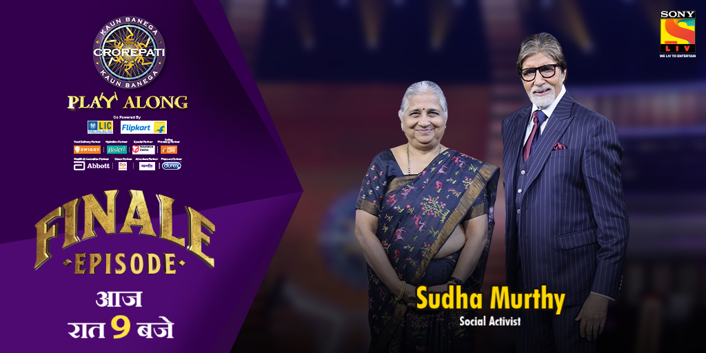 [Tweet 1/1] The final episode of #KBC11 is here and we have the perfect company to end our beautiful journey. Don't miss out on this entertaining episode & join us as we host the amazing #SudhaMurthy on #KBC Karamveer Special & bid adieu, until next time!  http:// bit.ly/2lEOcHZ    <br>http://pic.twitter.com/I9BzCQwbhT