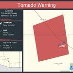 Image for the Tweet beginning: Tornado Warning including Marana AZ