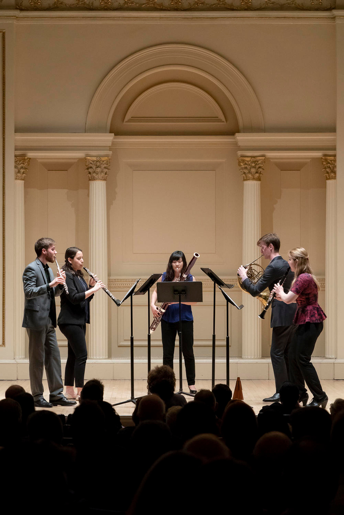 Don't miss the deadline for #EnsembleConnect! Redefine what it means to be a 21st-century musician over the course of a two-year fellowship based at #CarnegieHall. Submit your application before December 1: bit.ly/2MvT7XV