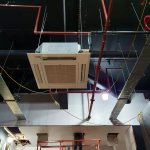 Image for the Tweet beginning: Installation of Mitsubishi Electric Air