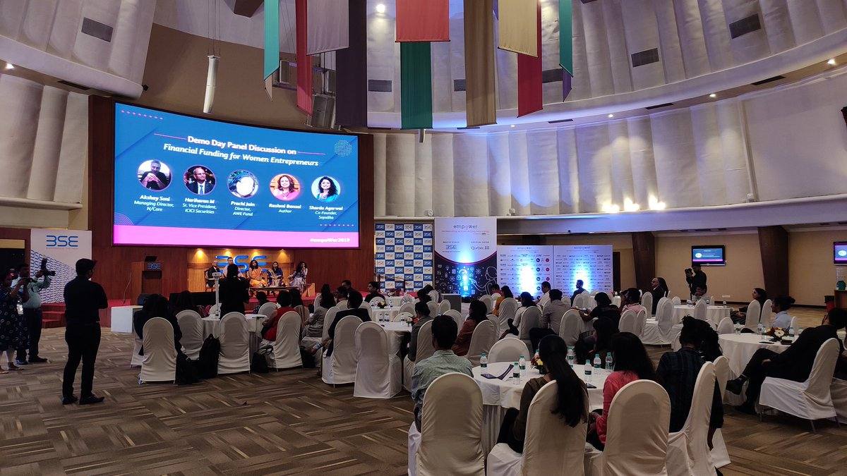 @BSEIndia in association with @ZoneStartUpsIn and @Quebec_India host #empoWer19 on 29th Nov, 2019 at BSE https://t.co/1f472kTbhC
