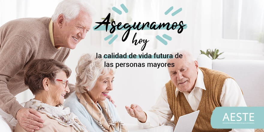 test Twitter Media - 🤲Asegurar la calidad de vida de las personas mayores en una sociedad en la que, cada vez, tienen más relevancia. Este es el reto futuro al que se va a enfrentar España en las próximas décadas y en el que desde AESTE y asociados ponemos todo nuestro esfuerzo.   #PersonasMayores https://t.co/TvNbYR4ahP