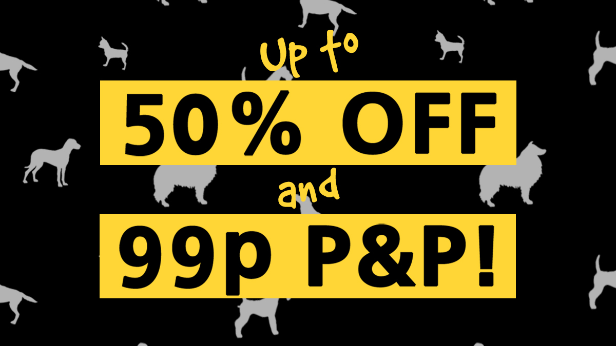🐶🖤 It's Bark Friday! 🖤🐶 Save up to 50% on selected #BlackFriday goodies 🎁 PLUS here's a one-off discount code for 99p P&P for one week only! ➡️ BARKFRIDAY2019 Offer ends on 6th December!....Hurry - while stocks last. Shop now ➡️ bit.ly/35L5BjU