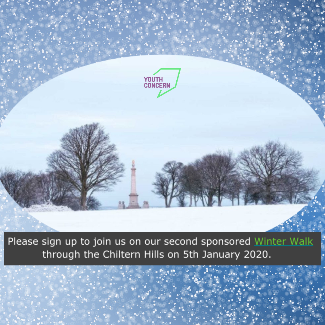 Have you signed up yet?  We can't guarantee snow or blue skies but we are sure you will have a great time, get some fresh air and exercise AND make a difference to the lives of young people in Aylesbury! 🏃♀️❄️👍  The first 'step' is to click here: