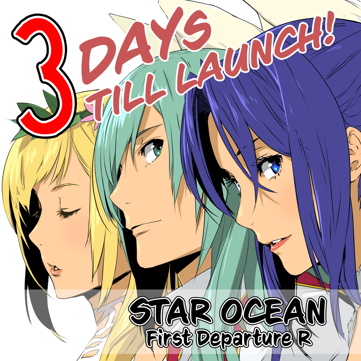 😏 3 Days left till the launch of #StarOcean First Departure R… STAR OCEAN First Departure R will be digitally available on #PS4 and #NintendoSwitch! Learn more: sqex.link/0iv #StarOcean