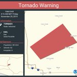 Image for the Tweet beginning: Tornado Warning including Maricopa County,